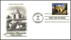 Carmel Mission $18.95 Express Mail Single Stamp Scott 4650
