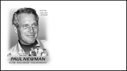 Paul Newman Stamp Format Pane Of 20 Issue Date 9 18 2015 First Day City Cleveland OH 44101 Envelope Size 6 3 4 Only